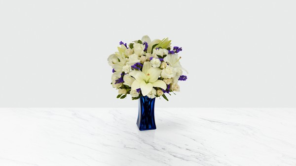 Beyond Blue™ Bouquet - VASE INCLUDED - Image 1 Of 4