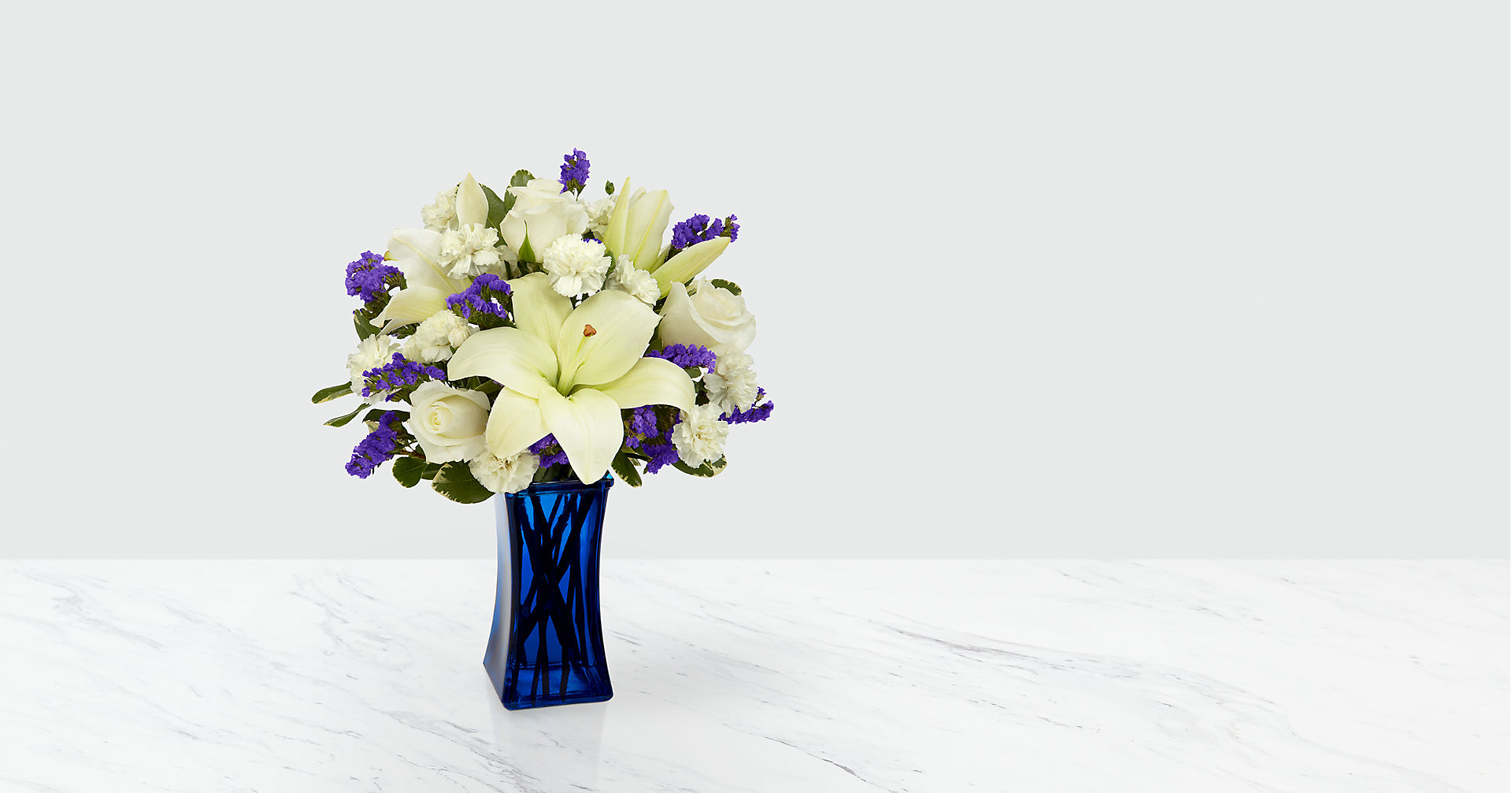 Beyond Blue™ Bouquet - VASE INCLUDED - Image 1 Of 6