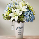 DaySpring® In God's Care™ Bouquet - Blue & White - Thumbnail 1 Of 3