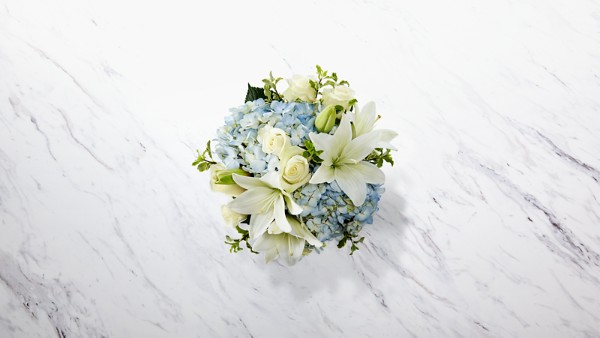DaySpring® In God's Care™ Bouquet - Blue & White - Thumbnail 2 Of 2