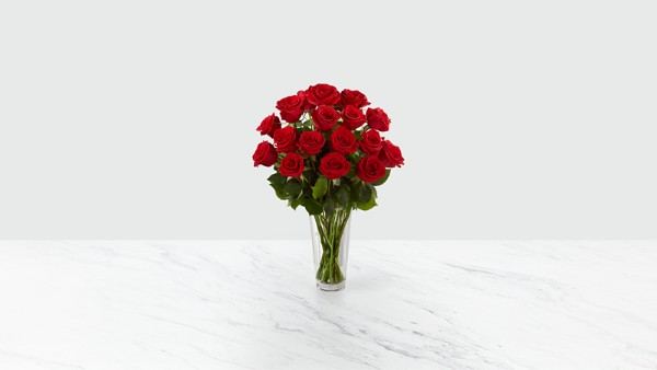 The Long Stem Red Rose Bouquet - Thumbnail 1 Of 2