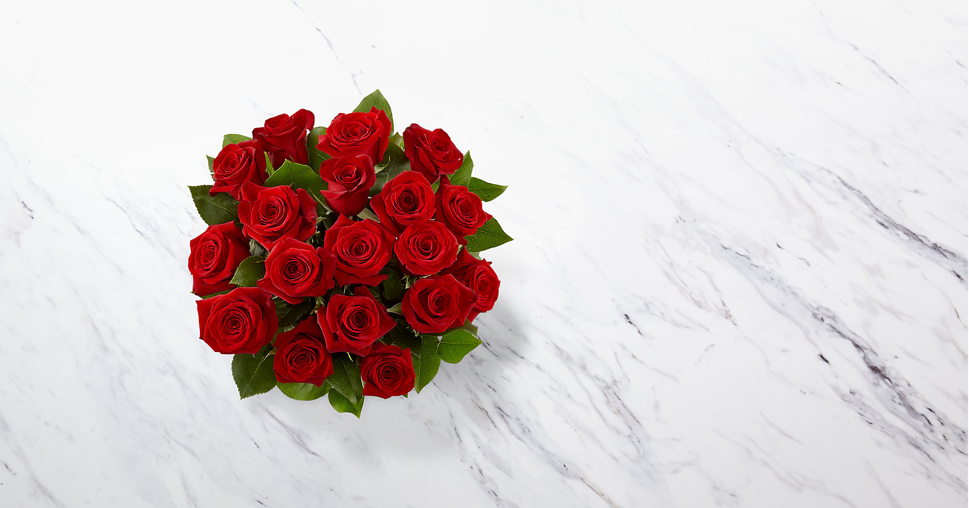 The Long Stem Red Rose Bouquet - Image 2 Of 3
