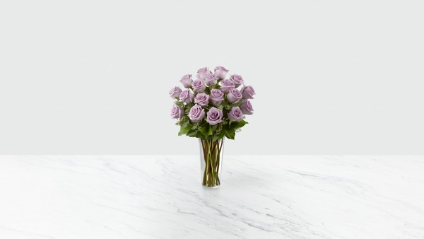 The Lavender Rose Bouquet - Thumbnail 1 Of 2