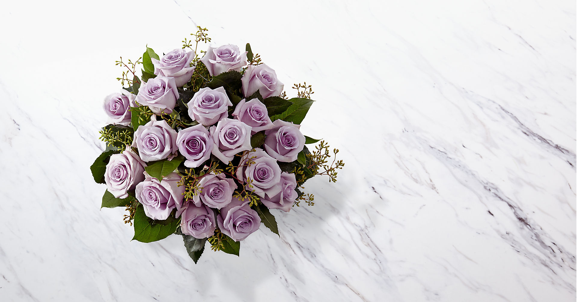 The Lavender Rose Bouquet - Image 2 Of 2