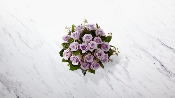 The Lavender Rose Bouquet - Thumbnail 2 Of 2