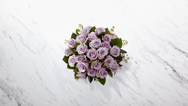 The Lavender Rose Bouquet - VASE INCLUDED - Thumbnail 2 Of 2