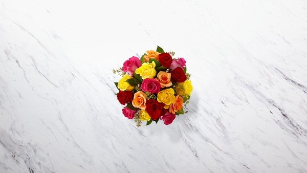 The Bright Spark™ Rose Bouquet - Image 2 Of 2