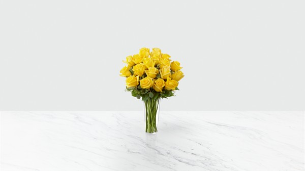 The Yellow Rose Bouquet - Thumbnail 1 Of 2