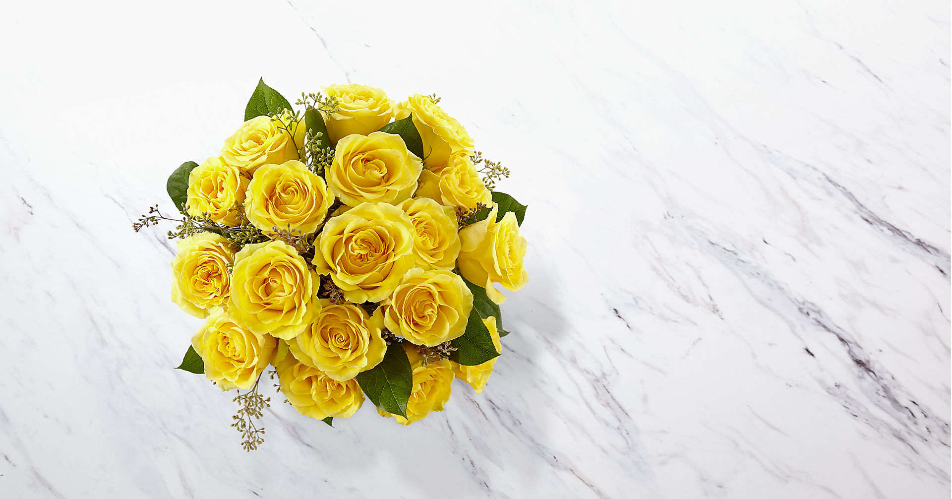 The Yellow Rose Bouquet - Image 2 Of 2