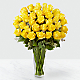 The Yellow Rose Bouquet - 36 Stems - VASE INCLUDED - Thumbnail 1 Of 2