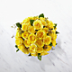 The Yellow Rose Bouquet - 36 Stems - VASE INCLUDED - Thumbnail 2 Of 2