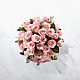 The Long Stem Pink Rose Bouquet - VASE INCLUDED - Thumbnail 2 Of 2