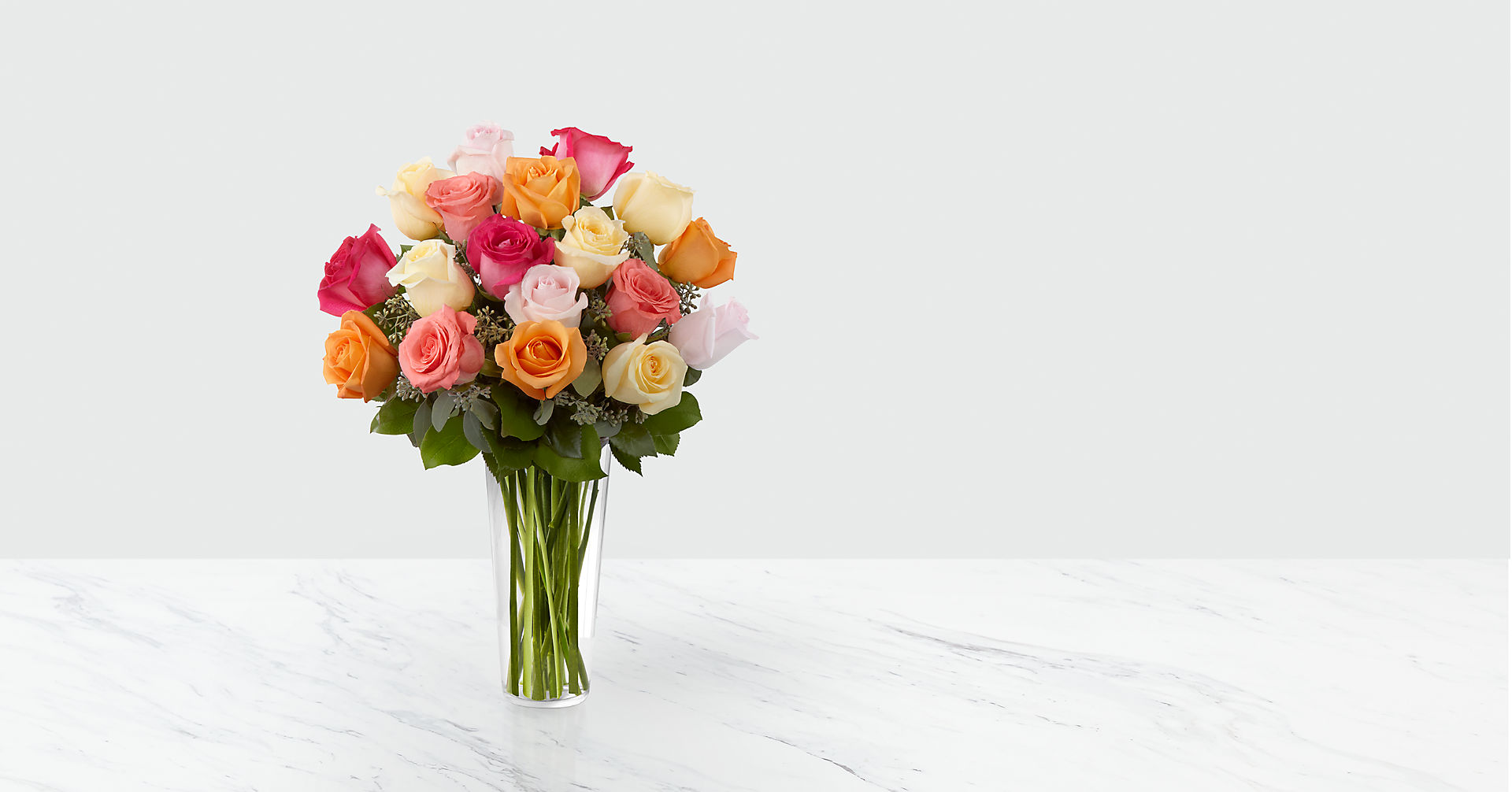 The Graceful Grandeur™ Rose Bouquet - Image 1 Of 2