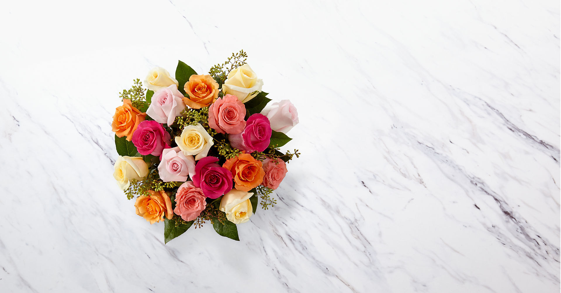 The Graceful Grandeur™ Rose Bouquet - Image 2 Of 2