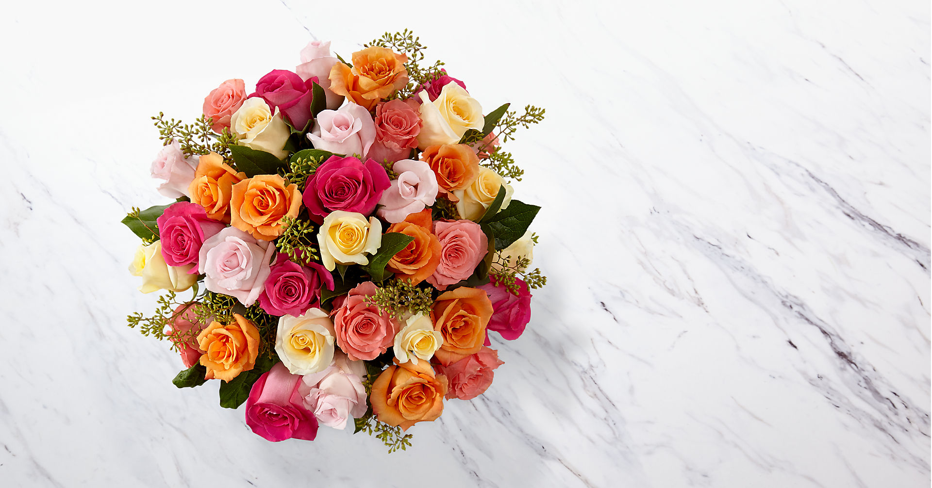 The Graceful Grandeur™ Rose Bouquet - VASE INCLUDED - Image 2 Of 2