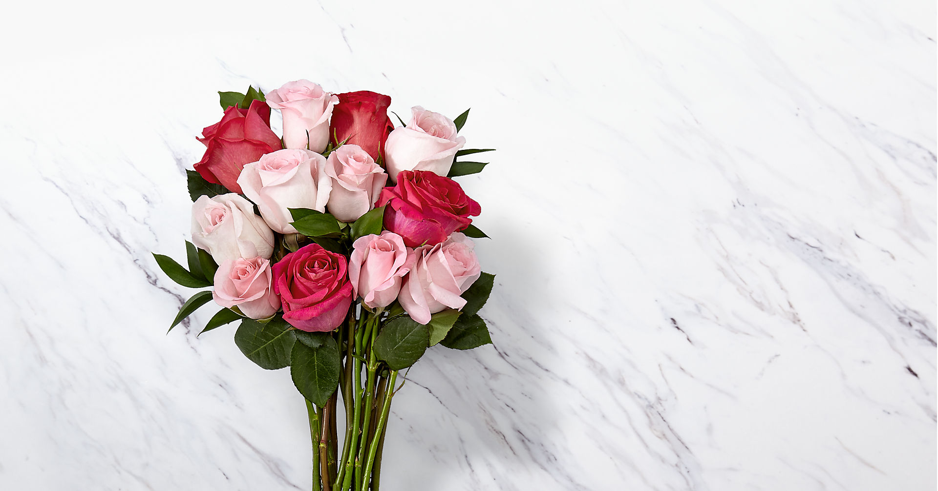 Pink Rose Bouquet - Image 1 Of 3