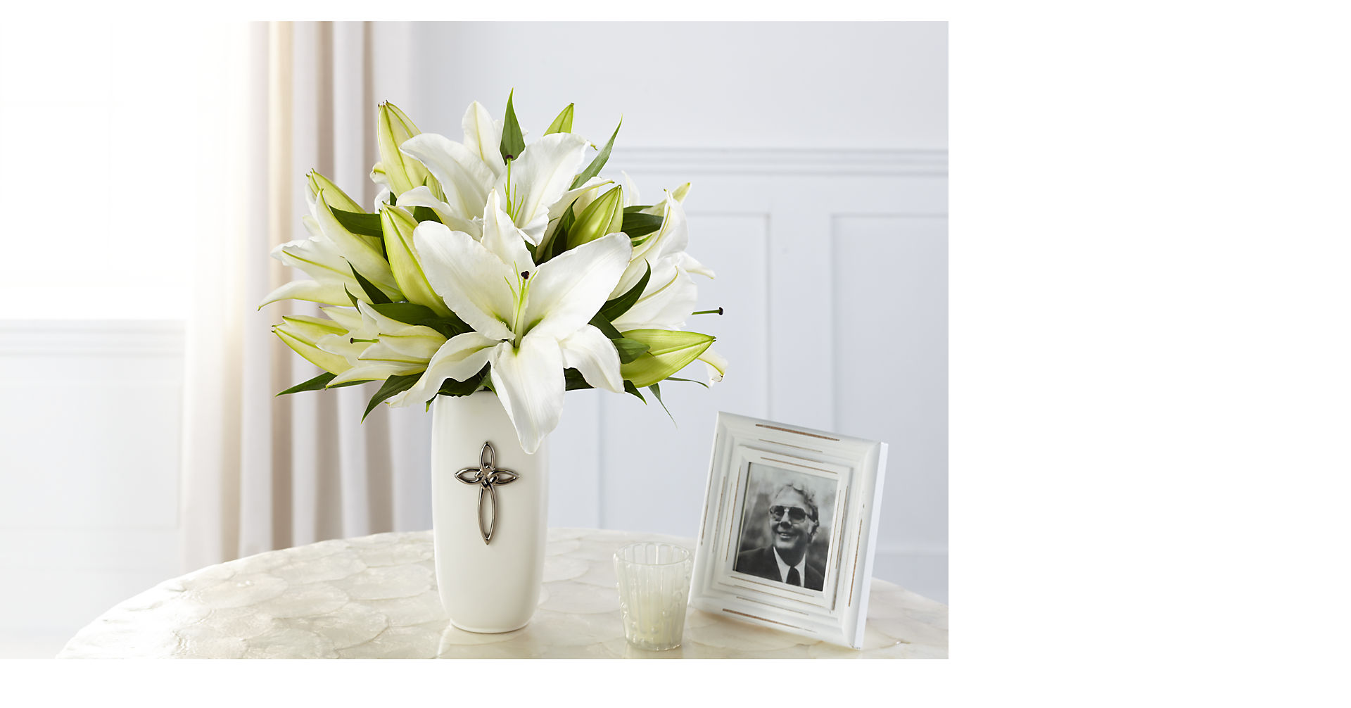 Faithful Blessings™ Bouquet - VASE INCLUDED - Image 1 Of 3