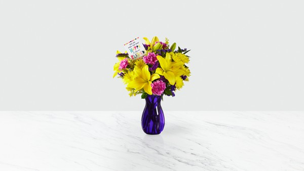 DaySpring® Happy Heart Bouquet - Thumbnail 2 Of 4