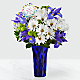 DaySpring® God's Love Bouquet -Blue & White - Thumbnail 1 Of 4