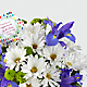 DaySpring® God's Love Bouquet -Blue & White - Thumbnail 3 Of 4