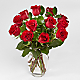 Red 1 Dozen Roses - Thumbnail 1 Of 4