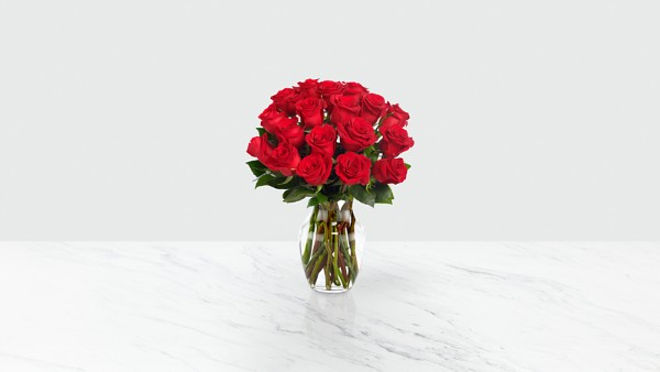 Red 1 Dozen Long Stem Roses - Thumbnail 2 Of 5