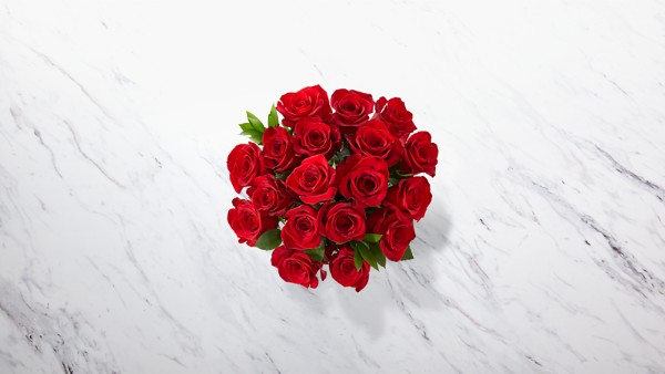 Red 1 Dozen Long Stem Roses - Thumbnail 3 Of 5