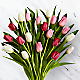 Here in My Heart Valentine Tulip Bouquet VASE INCLUDED - Thumbnail 2 Of 2