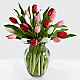 Here in My Heart Valentine Tulip Bouquet VASE INCLUDED - Thumbnail 1 Of 2