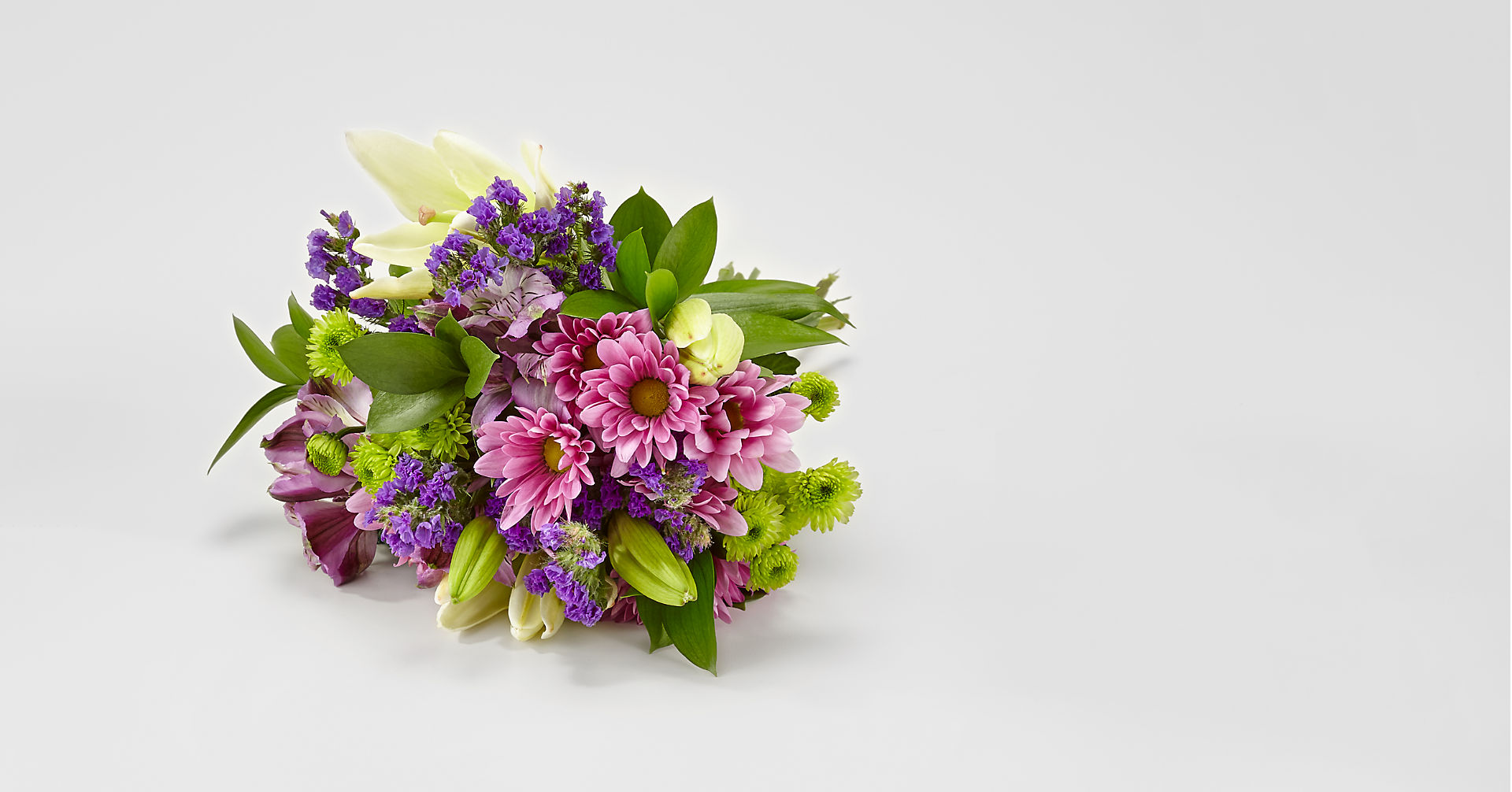 Lavender Fields Mixed Flower Bouquet - NO VASE - Image 1 Of 4