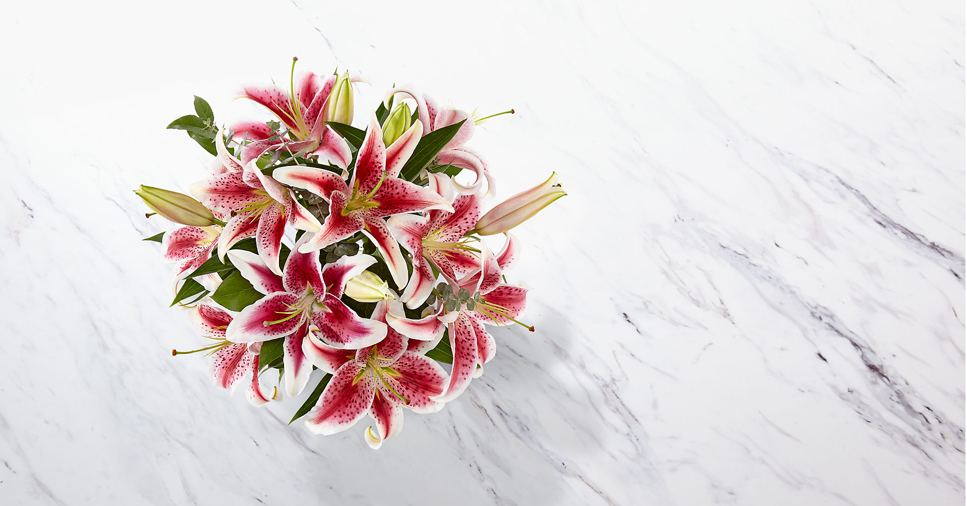 Up Among the Stars Lily Bouquet - Image 3 Of 4