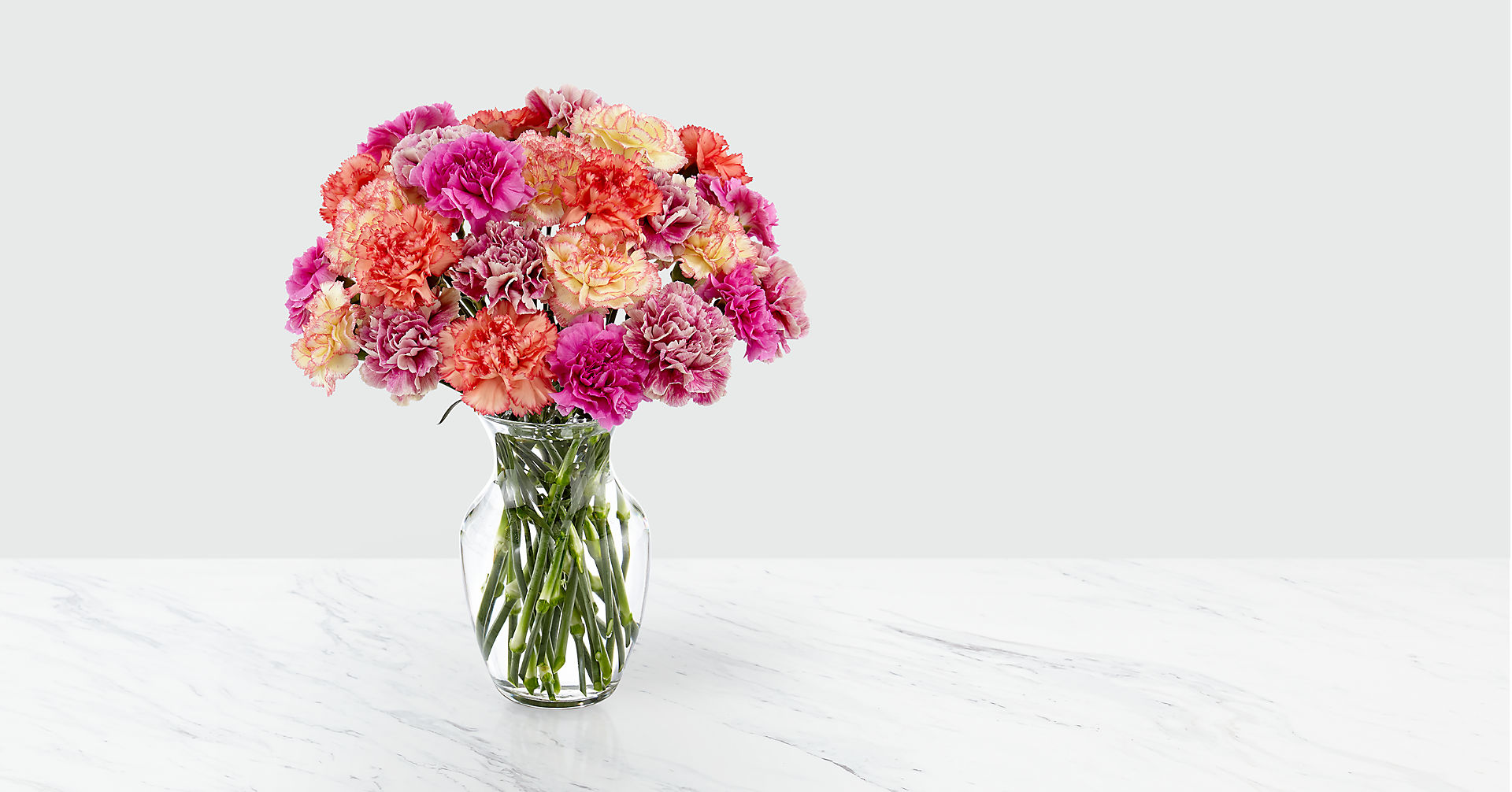 Sweet CarnationsBouquet - VASE INCLUDED - Image 1 Of 4