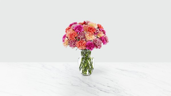 Sweet Carnations Bouquet - Thumbnail 2 Of 4