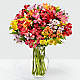 Rainbow Discovery Peruvian Lily Bouquet - Thumbnail 1 Of 5