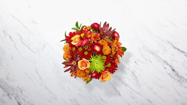 Amber Influence Bouquet - Image 2 Of 2