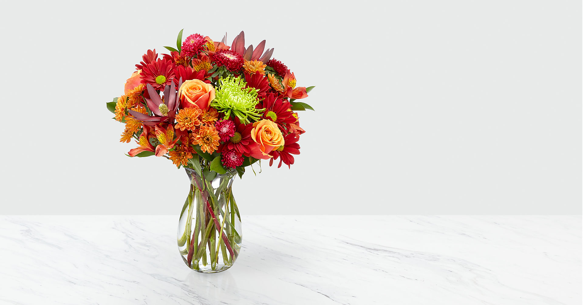 Amber Influence Bouquet - Image 1 Of 2