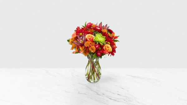 Amber Influence Bouquet