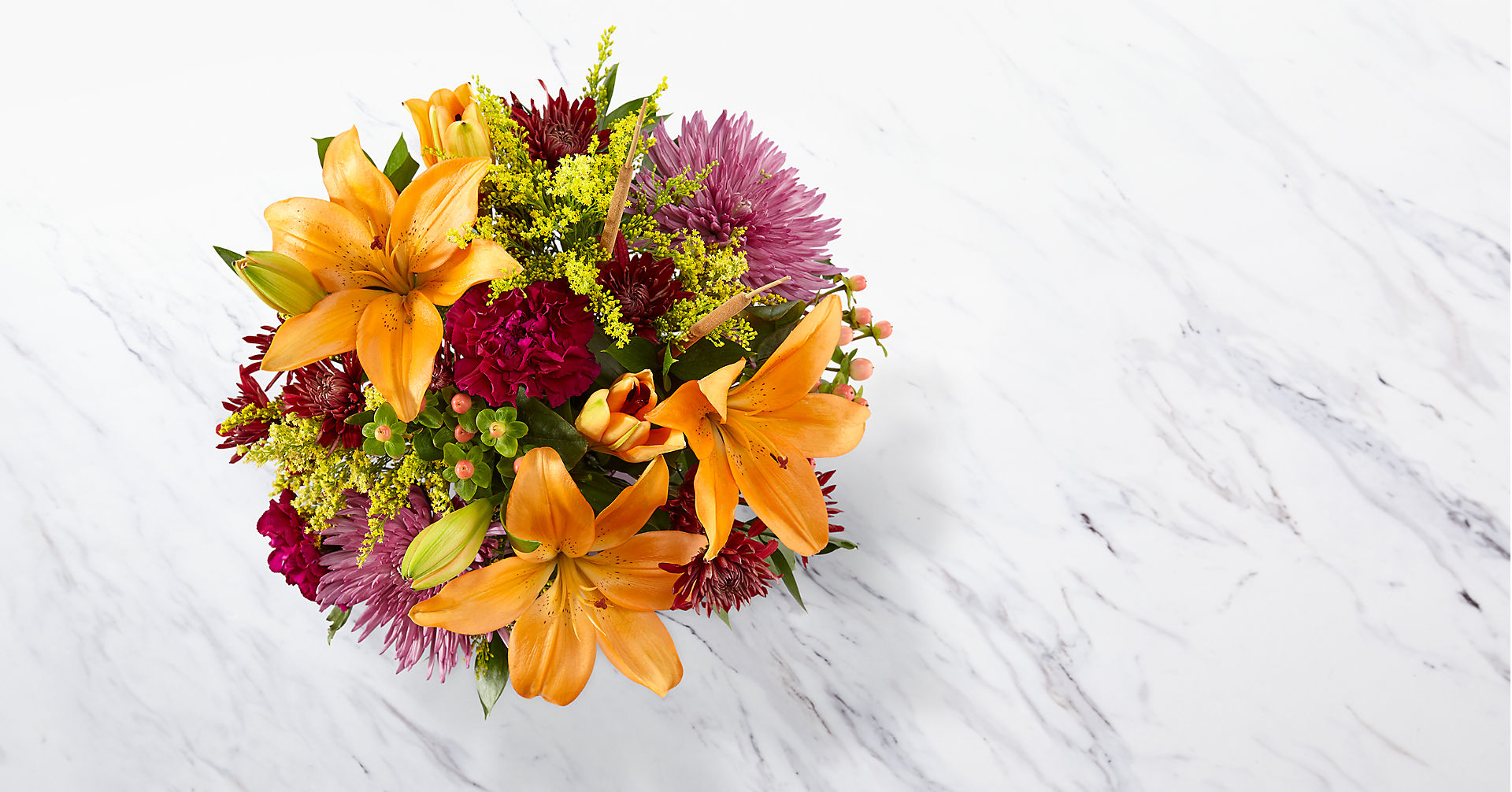 Fall Color Bouquet - Image 2 Of 2
