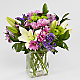 Lavender Fields Mixed Flower Bouquet - Thumbnail 2 Of 4