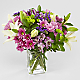 Lavender Fields Mixed Flower Bouquet - VASE INCLUDED - Thumbnail 1 Of 5