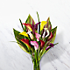 Captured Color Calla Lily Bouquet - 12 stems - VASE INCLUDED - Thumbnail 1 Of 3