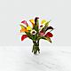 Captured Color Calla Lily Bouquet - 12 stems - VASE INCLUDED - Thumbnail 2 Of 3