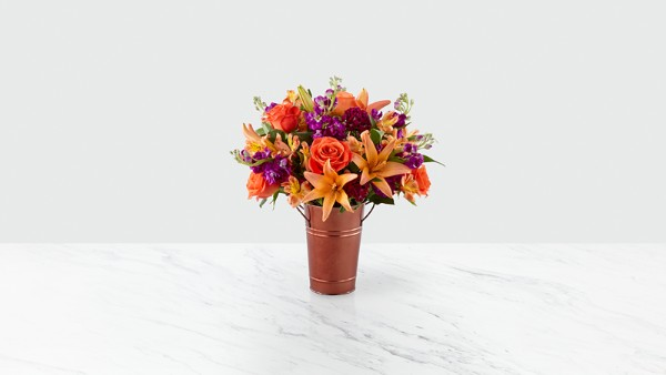 Finding Fall Harvest Bouquet - VASE INCLUDED - Thumbnail 2 Of 3