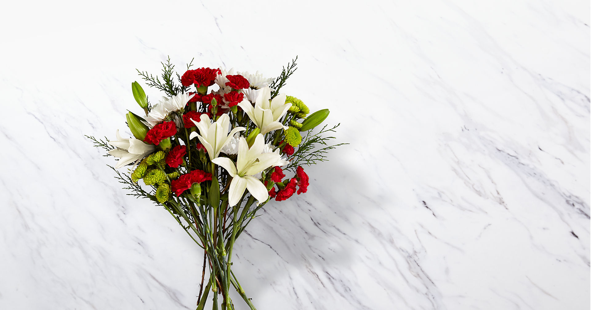 Open Your Heart Holiday Bouquet - Image 1 Of 2
