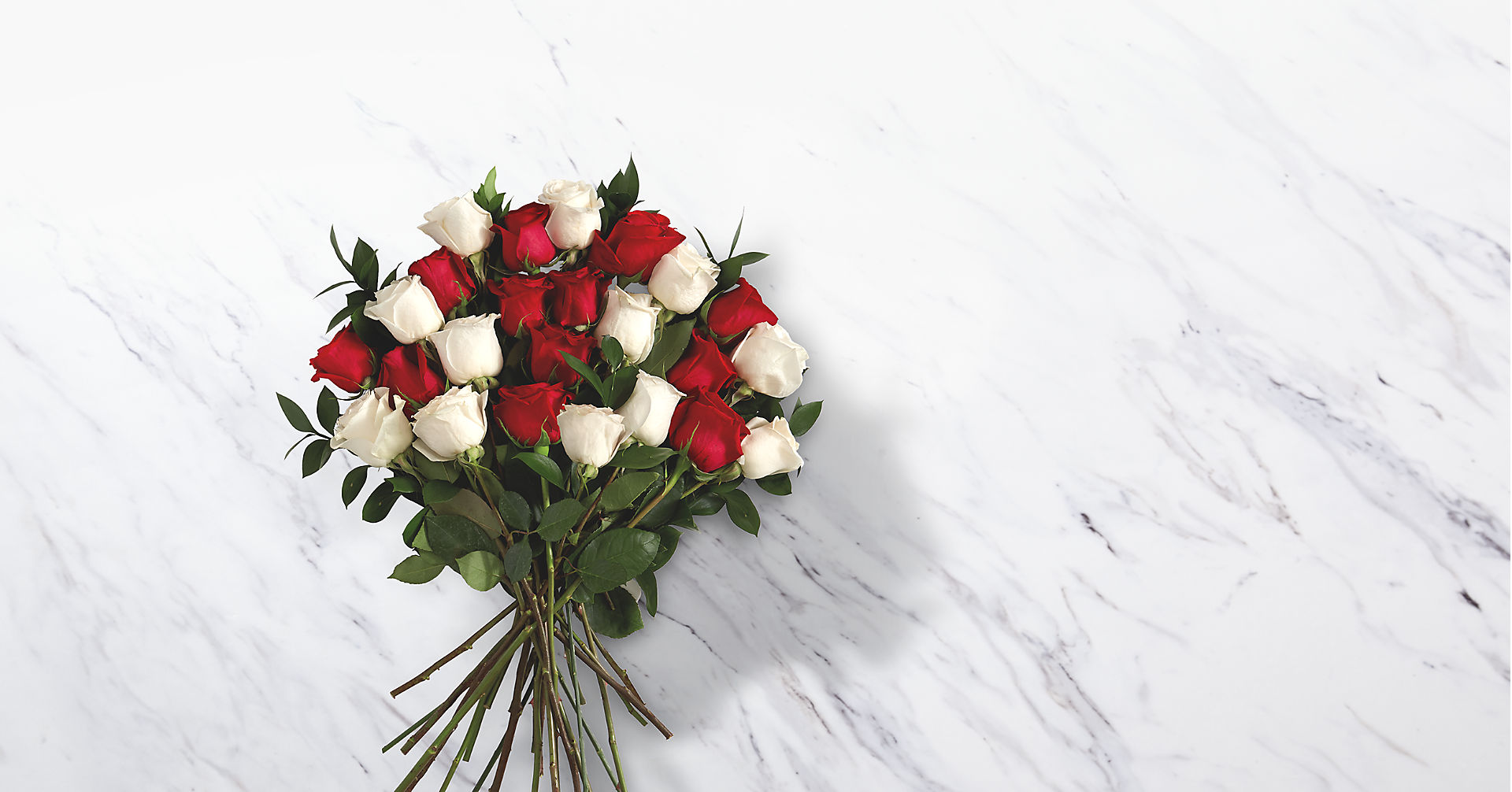 Two Dozen Candy Cane Roses - Image 2 Of 2