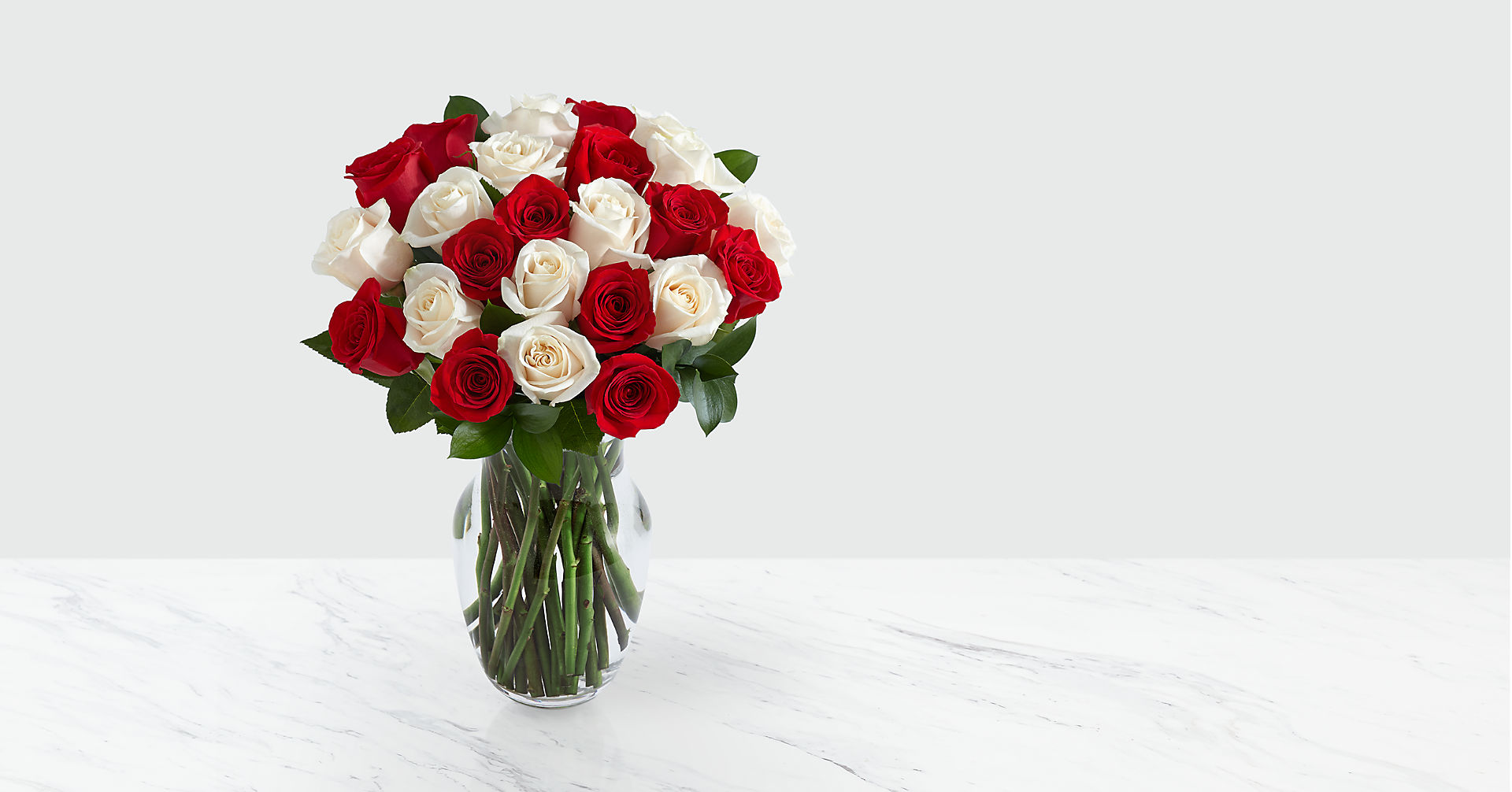 Two Dozen Candy Cane Roses - Image 1 Of 2