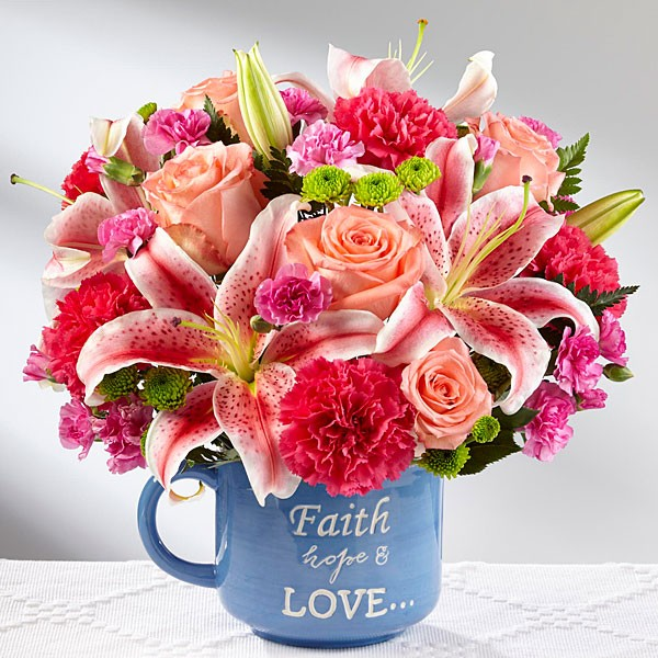 Be Blessed™ Bouquet - VASE INCLUDED