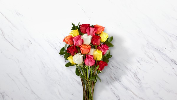 Mixed Long Stem Roses - Image 1 Of 5