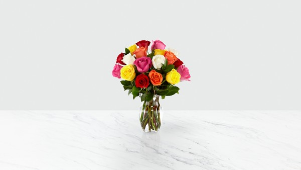 Mixed Long Stem Roses - Image 2 Of 5