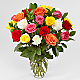 Mixed Roses - VASE INCLUDED - Thumbnail 1 Of 5